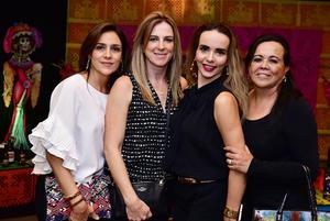 Silvia Lopez, Gisela Fernandez, Brenda Torres y Brenda Luna