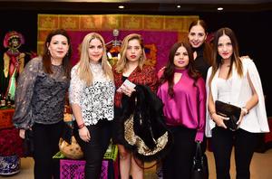 Sisy, Vero, Pamela, Marisol, Claudia y Dany