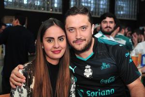Ana Lizeth y Alfonso
