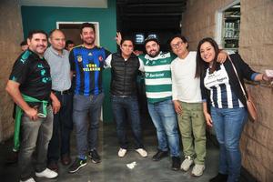 Gerardo, Felipe, Osman, Tolga, Edilberto y Charis