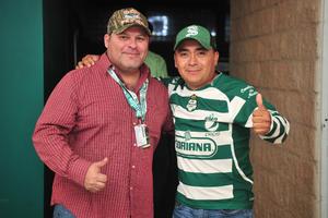 Ricardo Enriquez y Ricardo Silos