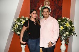 Alejandra Amador y Guillermo Gutiérrez