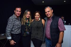 Alberto, Pilar, Lizeth y David