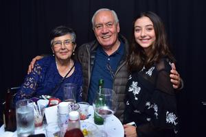 Dalia, Leopoldo y Noelie
