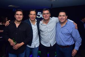 Giorgio,Gerson, Paulo y Daniel