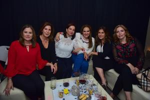 Noelie, Martha, Sandra, Laura, Marcela y Barbara