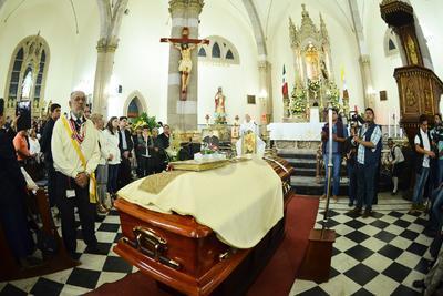 Los restos del obispo descansarán en La Laguna.