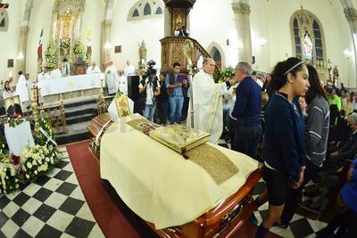 En Catedral se llevó a cabo la velación.