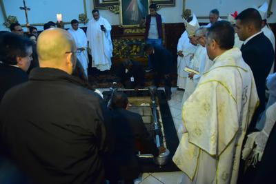Como fue su voluntad, sus restos descansarán en Gómez Palacio.