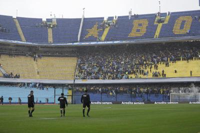 La Bombonera no late en la final de Libertadores con el Boca-River