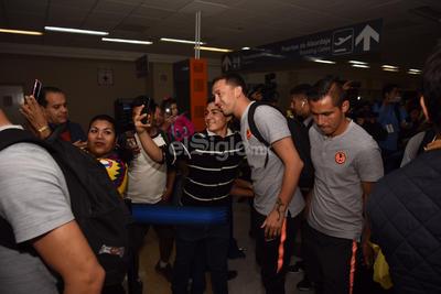 América está en Torreón para su partido contra Santos