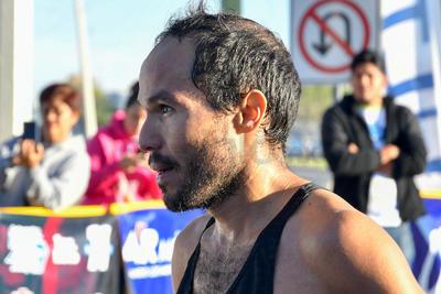 Ortiz terminó el 21K Autocentro-Autopop con un tiempo de 1:08:10.
