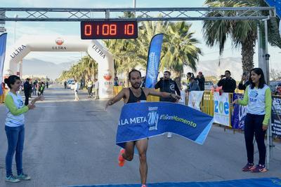 Daniel Ortiz, bicampeón del Maratón Internacional Lala, se adjudicó la victoria en el 21K Autocentro-Autopop.