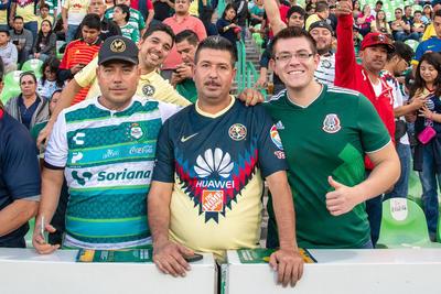 Santos empata con América