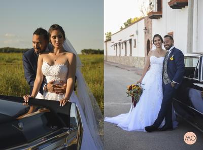 11112018 Marlen Rangel y Leonardo Barrera se convirtieron en marido y mujer el 27 de octubre de 2018. Fueron acompañados por sus padres, Nancy Franco y Mario Rangel, Consuelo Rodríguez y Juan Ramón del Bosque. - Daniel Morado.