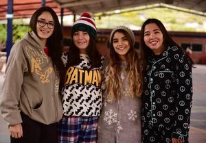14112018 Ashley, Danna, Melissa y Lorena.
