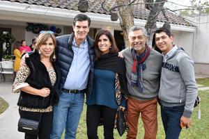 16112018 Nenabel, José Ángel, Raquel, Gerardo y Ángel,