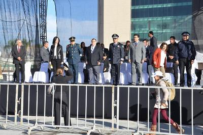 Asistieron regidores, algunos funcionarios municipales y representantes de la Sedena.