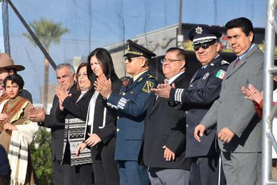 El alcalde Jorge Zermeño Infante no lo presidió.
