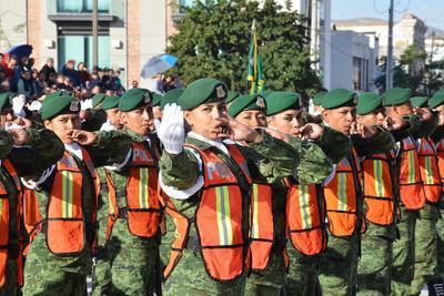 Este domingo 18 de noviembre se conmemoró en Torreón el CVIII Aniversario de la Revolución Mexicana con el tradicional desfile.