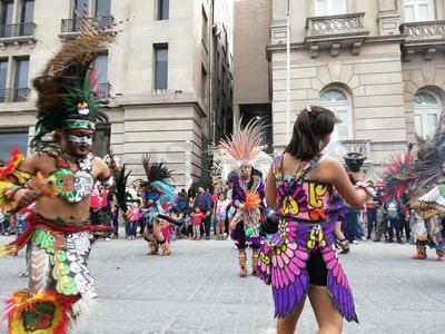 Con bendición de danzas, arrancan peregrinaciones
