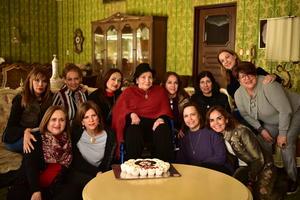 18112018 EMOTIVO REENCUENTRO.  Ex alumnas del Colegio Americano de Torreón festejaron los cumpleaños de Susana y Mónica, y a su vez, la bienvenida de Mara, procedente de España, siendo la anfitriona Elena Moreno de Webb.