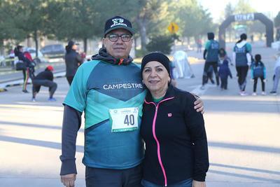 Toño Vázquez y Silvia de la Rosa.