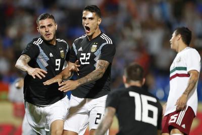 Fueron dos goles los que cimbraron a Argentina en el segundo encuentro pactado.