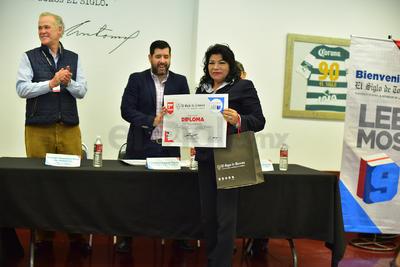 Estuvo encabezada por Antonio González-Karg de Juambelz, director general de El Siglo de Torreón.