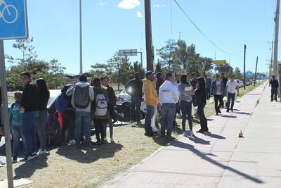 A partir de este miércoles, fueron ingresados al Cereso, en donde decenas de estudiantes de la UJED acudieron para pedir que su liberación.