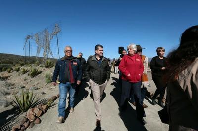 Los funcionarios señalaron que fue un día de fiesta para el pueblo de Rincón Colorado.
