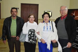 22112018 Armando, Alma Rosa, Patricia y Jesús Ricardo.