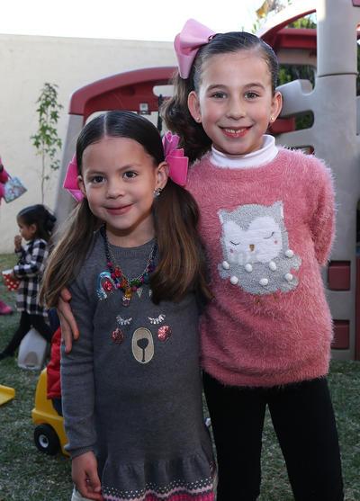 Eugenia Campuzano y Susy Rosas.