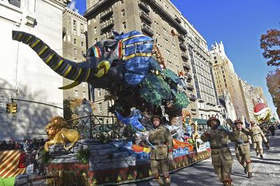 El desfile de la cadena minorista Macy's se celebró por primera vez en 1924.