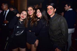 Marisol, Ana, Marifer y Alejandro