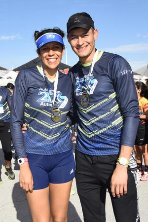 Adriana Rubio y Hector Sanchez