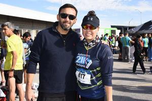 Gustavo Ortiz y Elisa Huerta