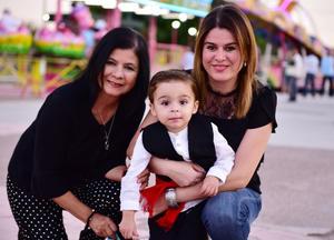 Marina, Ricky y Sofi