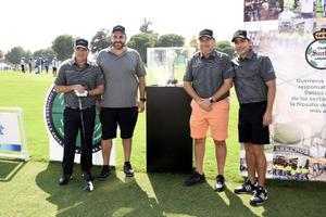 Alejandro Safa, Jesus y Mario Villarreal y Curro Handam
