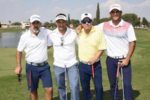 Tony Jimenez, Miguel Cano, Hassan y Antoine Chaul