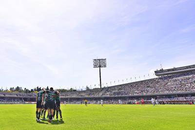 Los Guerreros lograron sacar un empate de la difícil cancha del Estadio Olímpico de Ciudad Universitaria.