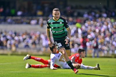 Jonathan Rodríguez marcó el primer gol del partido.