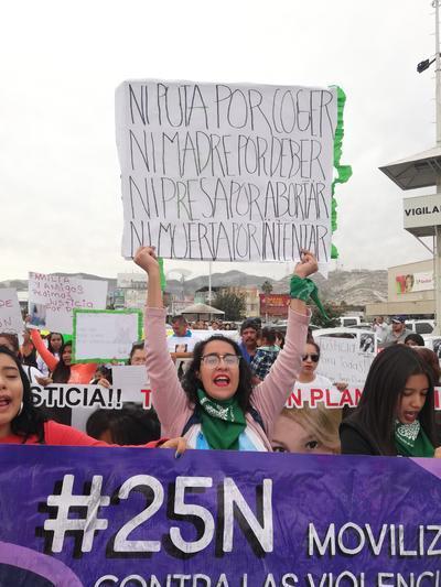 Se manifestaron además contra la violencia institucional.