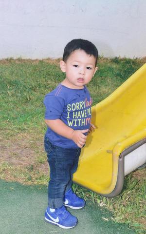 25112018 MUY TIERNO.  Diego Muñoz del Hoyo a la edad de 1 año 7 meses.