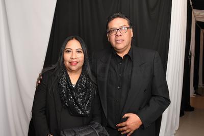 Silvia de la Garza y Alfonso Aquines.