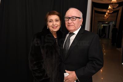 Homero y Mary Paz Rivas.