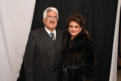 Óscar Moreno y Sra.
