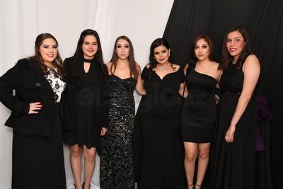 Natalia Prado, Berenice Cepeda, Valeria Roldán, Carolina Pérez, Fernanda Martínez y Any Ortíz.