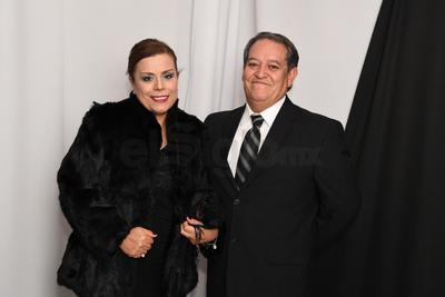 Rosario Murguía y Sergio Almonte.