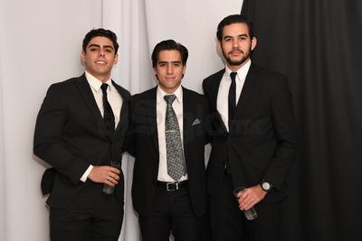 Luis Carlos, Andrés Prado y Diego Favela.